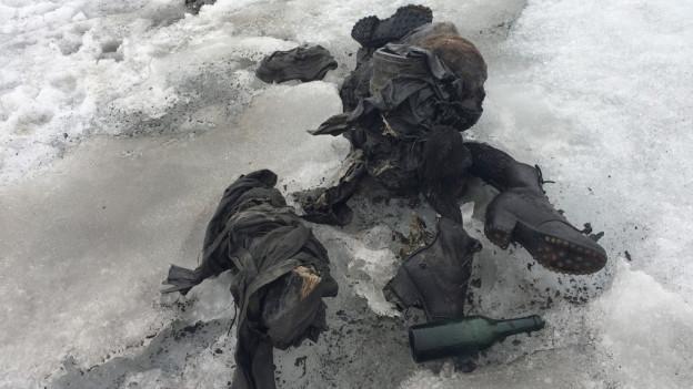 Leichenfund auf dem Tsanfleuron-Gletscher