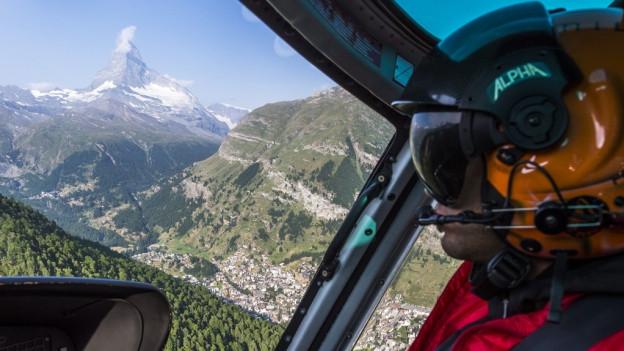 Die Air Zermatt klagt über zu tiefe Tarife.