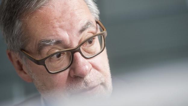 Alexander Tschäppät hat vor einem Jahr als damaliger Stadtpräsident den Leistungsauftrag mit dem Bund unterzeichnet.