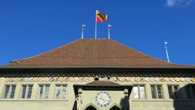Blick auf das Berner Rathaus