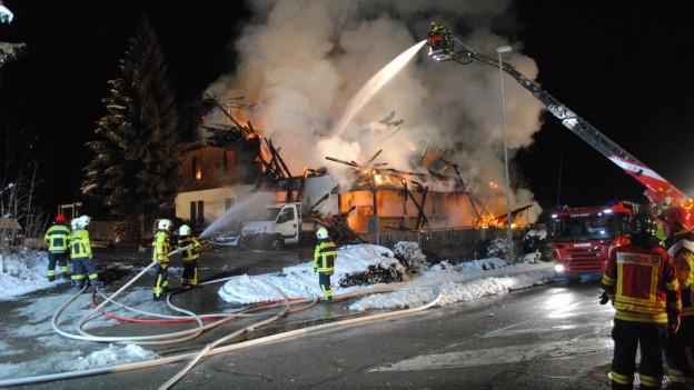 2015 ging das Gebäude in Flammen auf.