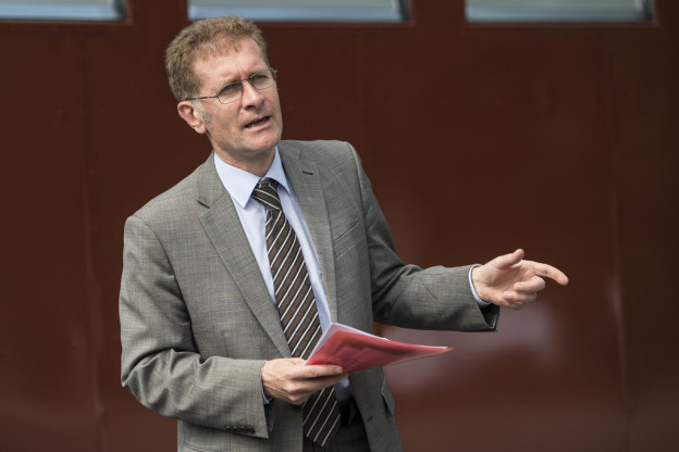 Gibt bei der Suche nach einem Transitplatz nicht auf: Regierungsrat Christoph Neuhaus