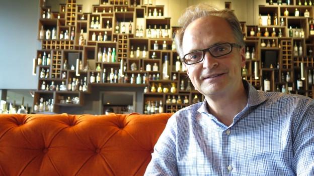 Günter Weilguni und sein «Huus». Er ist Hotelier des Jahres.