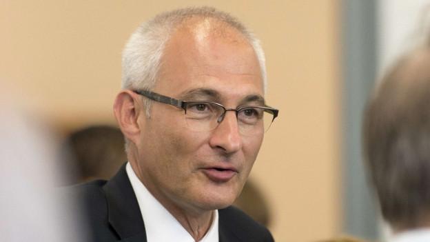 Der grüne Regierungsrat Bernhard Pulver will aufhören.