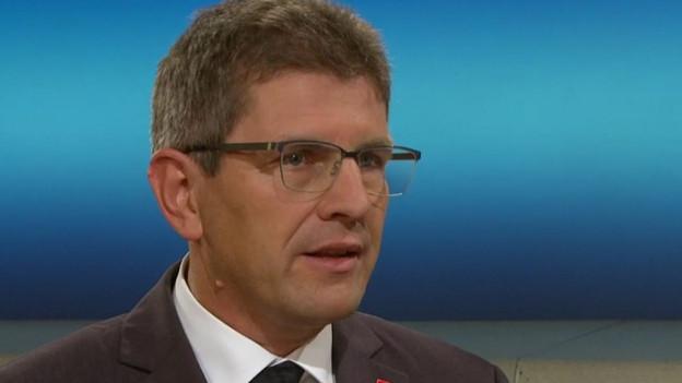 Erich Fehr in der SRF-Rundschau