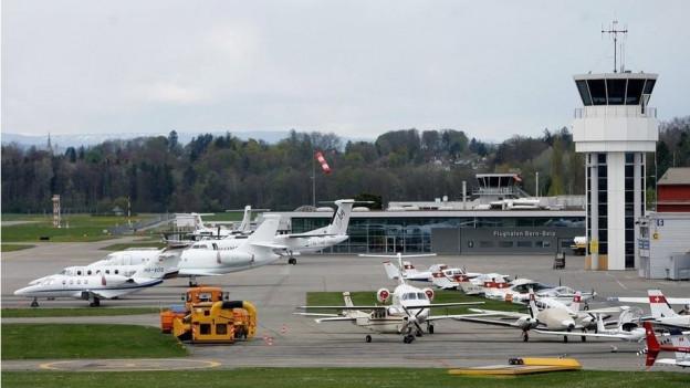 Die Business-Fliegerei ist ein wichtiges Standbein für den Flughafen Bern-Belp.