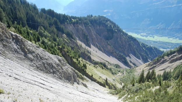 Der Brienzer Lammbachgraben kann gefährlich werden.