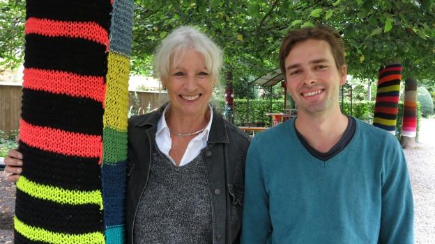 Ursula Haller und Elias Rüegsegger