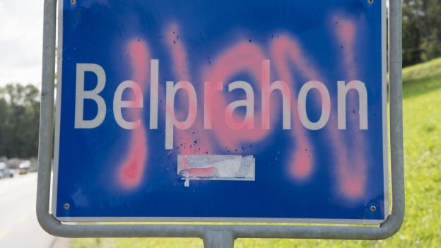 Belprahon und auch Sorvilier wechseln nicht in den Kanton Jura.