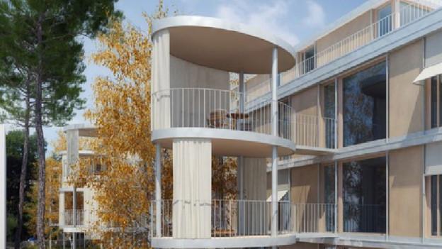 Das Projekt «Baumhaus» mit seinen 13 Wohnungen erhitzt die politischen Gemüter in der Bundesstadt seit längerem.