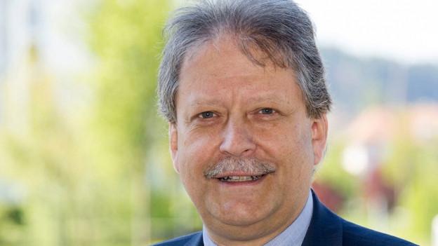 Hans-Peter Kohler (FDP) erhielt beim ersten Wahlgang 2'546 Stimmen.