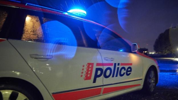 Die Polizei überwachte die Räumung (Symbolbild).