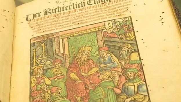 Peter Falck war Schultheiss und hatte Einfluss über die Schweiz hinaus.