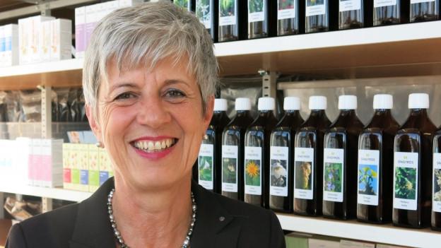 Jacqueline Ryffel ist zielstrebige Geschäftsfrau und Naturmensch.