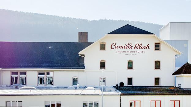 Sitz der Firma Camille Bloch.