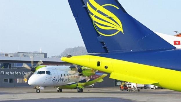Am Sonntag, 29. Oktober 2017, bleiben die Flugzeuge von Skywork am Boden.