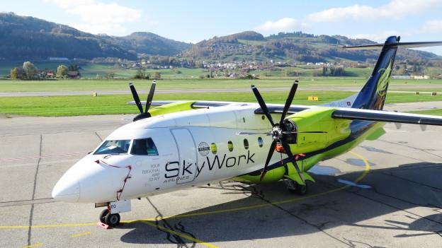 Die Maschinen von Skywork blieben auch am Montag am Boden.