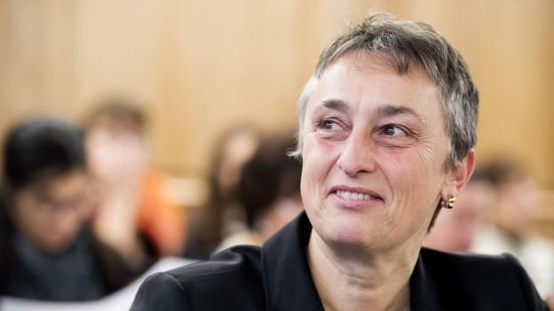 Seit 2011 war Marie Garnier Staatsrätin für die Grüne Partei.