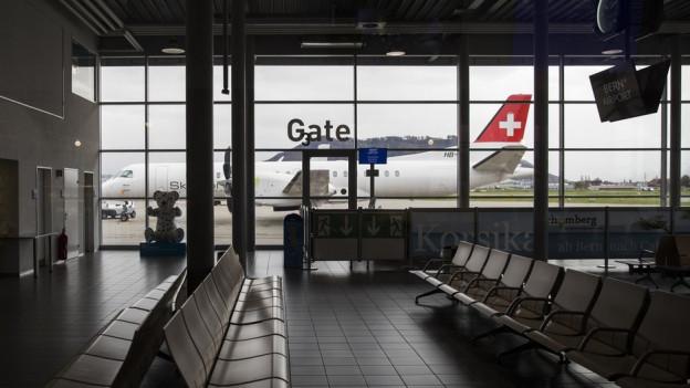 Der Flughafen Bern darf ausbauen.