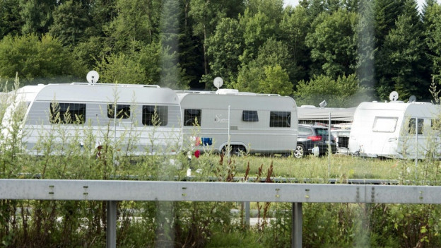 Wohnwagen in Wileroltigen
