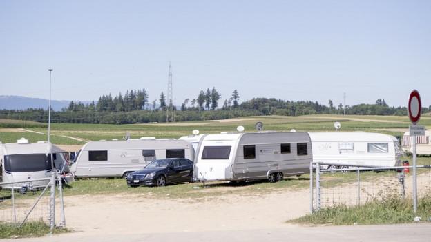 Der Transitplatz für ausländische Fahrende in Wileroltigen wird konkret.