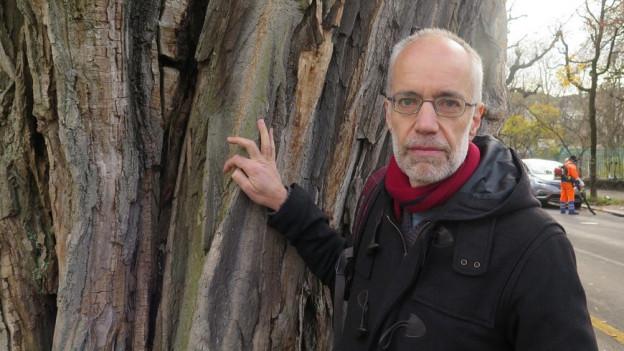Andreas Minder findet Bäume faszinierend.