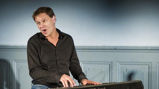 Ben Vatter war schon oft im Rampenlicht – nun ist sein erstes Solo-Programm da.
