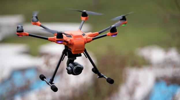 Keine Drohnen in Freiburg während Grossanlässen.