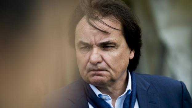 Constantin sicherte sich, ohne es dem Komitee mitzuteilen, Markenrechte am offiziellen Bewerbungsslagen für «Sion2026».