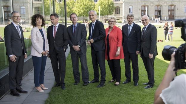 Portrait Kantonsregierung