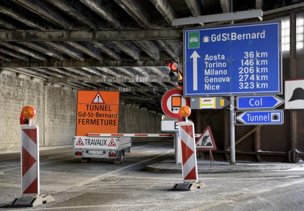 Tunneleingang Grosser St. Bernard