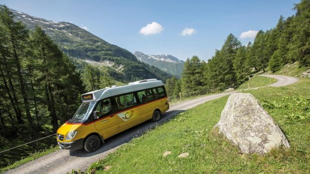 Mit diesen Fahrzeugen werden in Bergregionen Gäste transportiert.