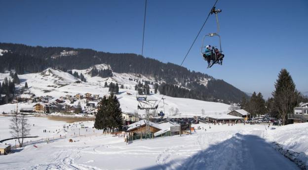 Skigebiet Schwarzsee, Freiburger Sensebezirk.