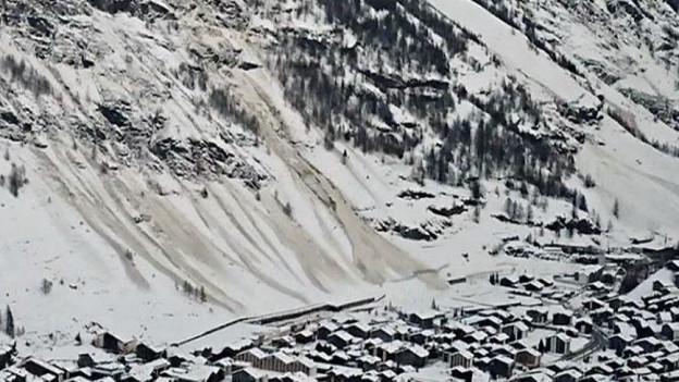 Lawinengefahr in Zermatt