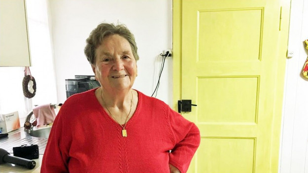 Dank Anpassungen im Haus kann die 78-jährige Johanna Zosso zuhause wohnen.