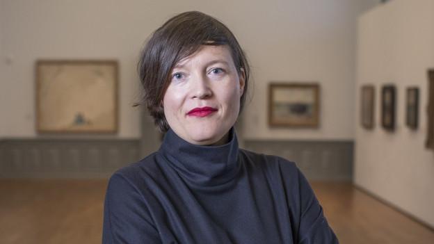 Nina Zimmer ist die Direktorin des Kunstmuseums Bern und des Zentrums Paul Klee.