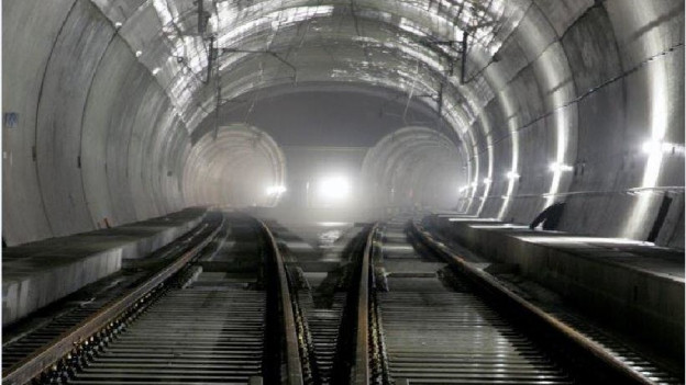 Lötschberg-Basistunnel.