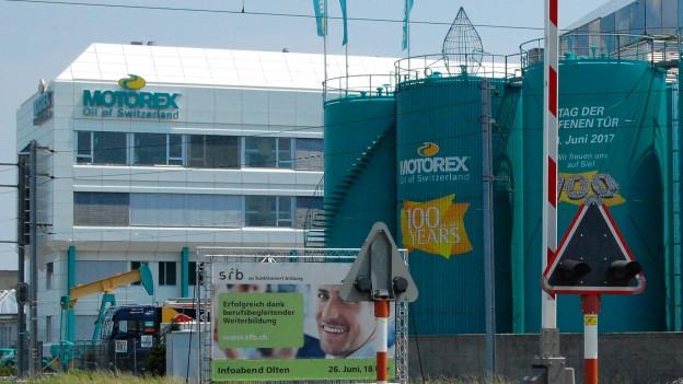Der Hauptsitz der Motorex-Bucher-Gruppe im bernischen Langenthal.