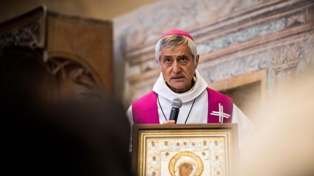 Sorgt für Schlagzeilen: Bischof Jean-Marie Lovey.