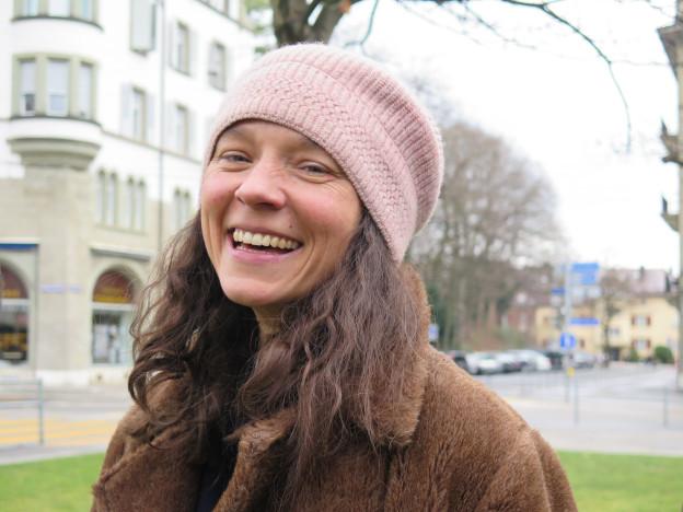 «Als Schauspielerin stelle ich mich für Rollen zur Verfügung», sagt Sabine Timoteo.