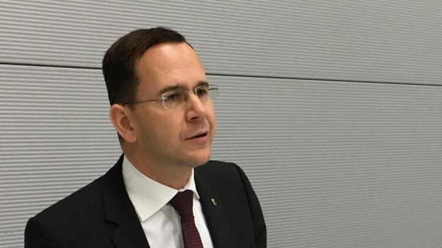 Firmen in den Kanton Bern locken ist sein Job: Sebastian Friess.