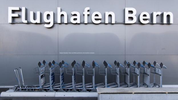 Südanflüge auf den Flughafen Bern? Nun ein Fall für die Justiz.