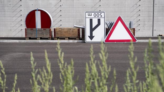 Im Wallis entsteht ein weiterer Abschnitt der A9.