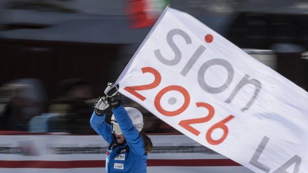 Sion 2026 wird vom Walliser Kantonsparlament unterstützt.