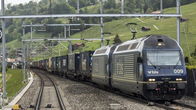 BLS habe neue Kunden gewonnen und den grenzüberschreitenden Lokeinsatz ausgebaut, heisst es in einer Mitteilung.