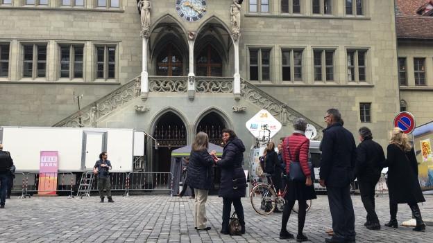 Ort der Kantonspolitik: Das Berner Rathaus.