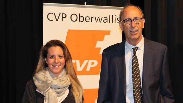 Franziska Biner übernimmt die Parteileitung von Anton Andenmatten.
