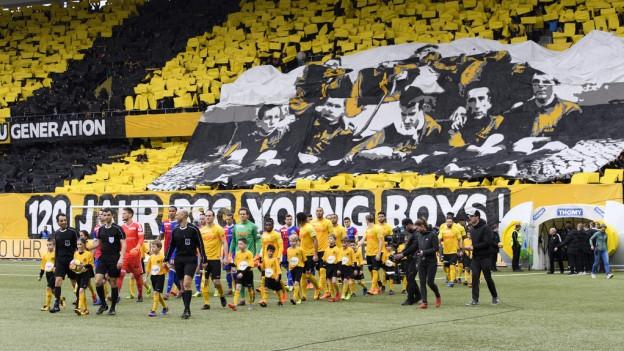 Am Ostermontag spielte YB im ausverkauften Stade de Suisse.