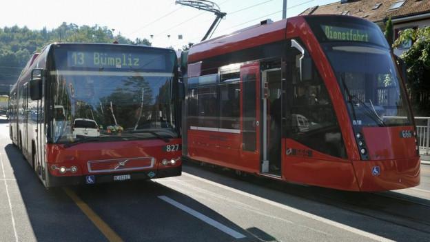 Nach dem Tram ist vor dem Tram: Künftig soll auch die Länggasse mit einem Tram erschlossen werden.