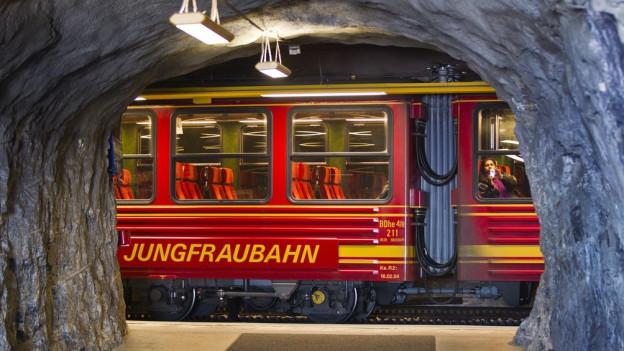 Das beste Ergebnis der Unternehmensgeschichte: Die Jungfraubahn 2017.